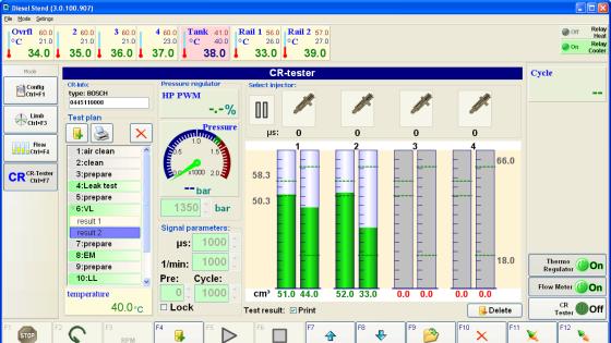 Инструкция по проверке гидроплотности клапана канала и сливного клапана измерителя