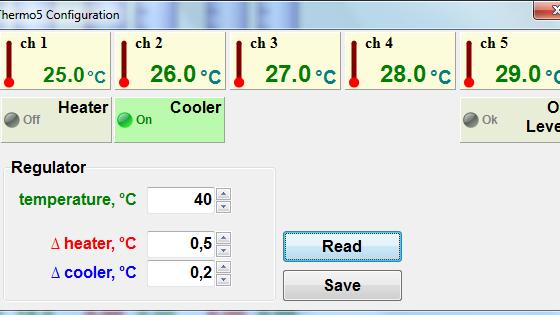 Настройка термоконтроллеров