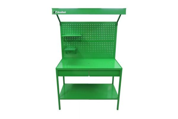 Специальный стол-верстак с двумя выдвижными ящиками в комплекте CR-STN