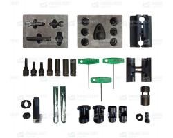 Комплект инструмента для ремонта форсунок CR из 22-х наименований — DL-CR TOOL KIT-22