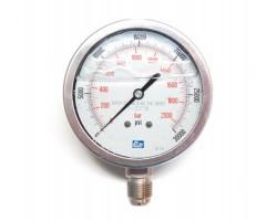 Коррозионностойкий манометр высокого давления 0-2000 бар DL-CR14P2000