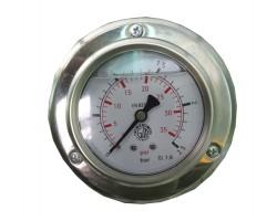 D-12-TG63-02,5. Манометр на 0 ÷ 2,5 bar. DL-CRN50107