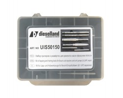 Комплект алмазных притиров и развёрток для восстановления посадочного места клапана — DL-UIS50150
