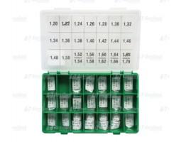 Шайбы регулировочные Ø3.5X5.3, H1.2-1.7, шаг 0,02 — DL08CR-220
