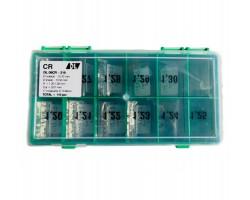 Шайбы регулировочные Ø10.5X15.7, H1.2-1.3, шаг 0,01 — DL09CR-219