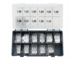 Шайбы регулировочные Ø19X22, H1.0-1.1, шаг 0,01 — DL10CR-235