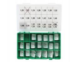 Шайбы регулировочные Ø2.5X4.5, H1.2-1.7, шаг 0,02 — DL12CR-230