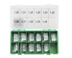 Шайбы регулировочные Ø19x22, H1.3-1.4, шаг 0.01 — DL24CR-301