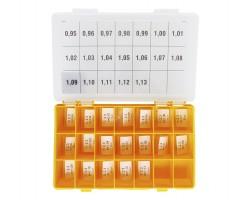 Шайбы регулировочные Ø2.3, H0.95-1.13, шаг 0.01 — DL26CR-283
