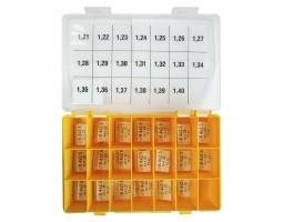 Шайбы регулировочные Ø2.5X6.4, H1.21-1.4, шаг 0,01 — DL377CR-377