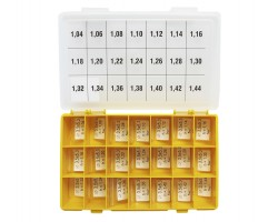 Шайбы регулировочные Ø3.5x5.3, H1.04-1.44, шаг 0.02 — DL77CR-77