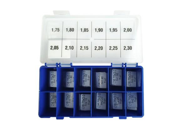 Шайбы регулировочные Ø3.0X6.75, H1.75-2.30, шаг 0,05 — DL78CR-78