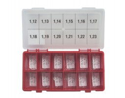 Шайбы регулировочные Ø10.5X15.7, H1.12-1.23, шаг 0.01 — DL99CR-99