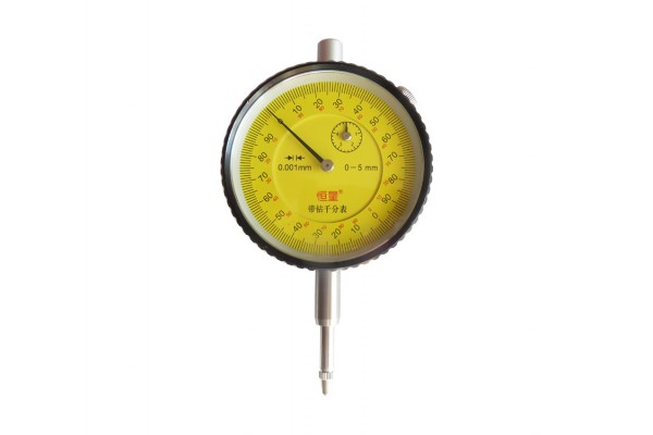 Индикаторная измерительная головка часового типа. Точность 0,001 мм, ход 5 мм — DL-KIP002
