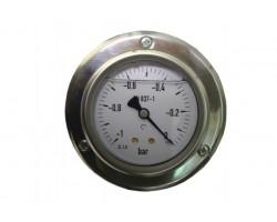 Манометр измерения давления от -1 до 0 бар — D-12-TG63