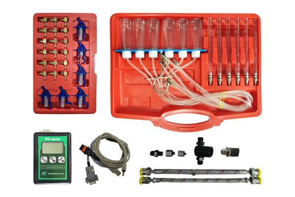 Комплект для измерения давления топлива в системах CR и FSI — DL-UNI20006