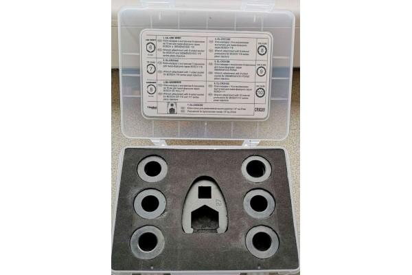 Комплект ключей под гайки распылителя пьезо форсунок Bosch и Siemens — DL-CR50261