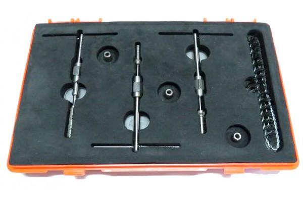 Алмазные притиры и развёртки для восстановления посадочного места клапана форсунок Bosch и Detroit — DL-UIS50256 DL-UIS50257