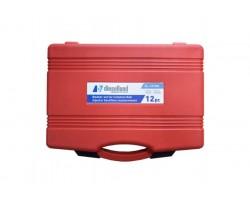 Комплект колб для замера обратного слива топлива с форсунок на автомобиле — DL-12CRM