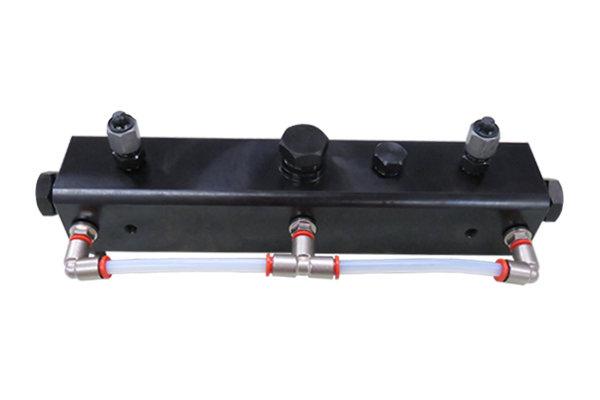 Накопитель давления на 3 регулятора с охлаждением — DL-CR31053