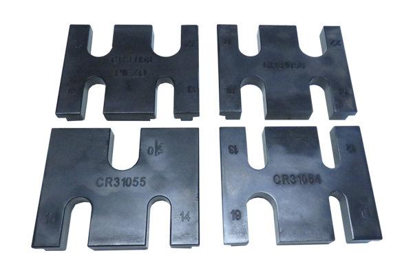 Комплект из 4-х блоков держателей форсунок CR для тисков — DL-CR50167