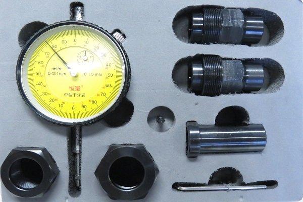 Комплект адаптеров для измерения хода клапана форсунки CR VDO Siemens всех типов — DL-CR50165