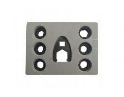 Комплект ключей без бурта под гайку распылителя форсунки CR — DL-UNI50050