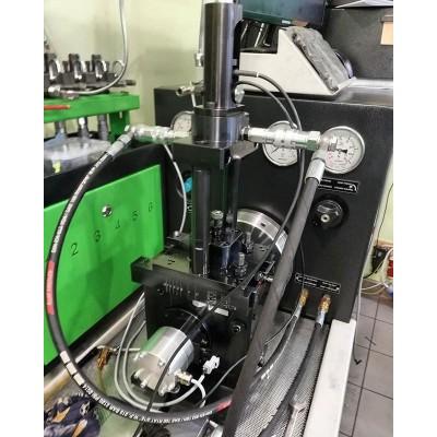 Cam Box с датчиком отклика и датчиком load cell.  Иногда при испытании грузовой насос-форсунки с большими объёмами подачи срывает трубку, идущую к измеритель. Вопрос решается заменой трубки 6мм на трубку на 8мм. #dieselbel #dieselland #cambox #насосфорсунки #ремонтнасосфорсунок #uis #uip #heui