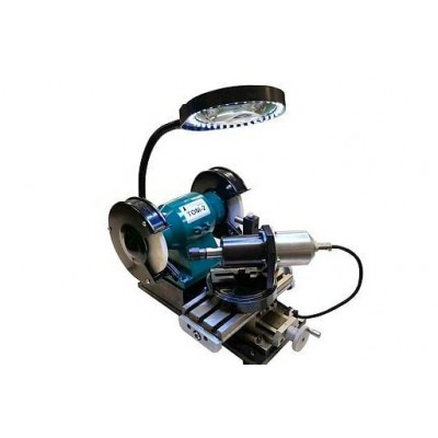 Назначение  Станки модели TOM2 CP-230 предназначены для заточки тел вращений (сверл, фрез, кернов , притиров и др.) с углом в диапазоне от 77 до 127 градусов с зажимом их в цанговом патроне. Также устройство предназначено для заточки сверл , фрез, кернов, стамесок, ножей, долот и другого режущего и слесарного инструмента ручным способом. В качестве рабочего инструмента в заточном станке используются шлифовальные (заточные) круги.  Комплект поставки  Станок TOM2 CP-230 Лампа подсветки Стекло увеличительное Держатель карандаша правки абразивного круга Карандаш для правки абразивного круга Ключ для затяжки цангового патрона  Основные технические характеристики  Наибольшее поперечное перемещение – 100мм. Наибольшее продольное перемещение – 70мм. Ширина рабочей поверхности стола – 200мм. Длина рабочей поверхности стола – 90мм. Напряжение питания: ~220 В±15%; Мощность электродвигателя – 0,23 кВт. Габариты станка (длина x ширина x высота), мм 400х280x260 Вес станка, кг – 21 Число оборотов в минуту электродвигателя: – 2760 Число оборотов в минуту приводного вала: – 200 #dieselbel #dieselland #dieseltest #том2 #шлифвальнаямашинка