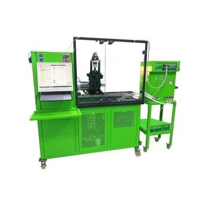 #SPF-1108  Модернизированный Стенд для проверки ТНВДСR и Одиночных насосов (UP)  Стенд испытательный SPF-1108 позволяет выполнять процедуры, связанные с испытаниями и проверкой топливных насосов высокого давления (ТНВД) различных производителей, а также одиночных насосов Unit Pump (UP), устанавливаемых в Cam-Box. Управление насосами и насос-форсунками осуществляется с помощью контроллера генератора сигналов (PTC-2520). Замеры подачи производятся с помощью контроллером расходомером FMDE-520 при больших наливах и безмензурным мерным блоком для малых наливах, находящимся в центральной части стойки управления. Для калибровки электронной измерительной системы на стенде установлен пробирный мерный блок. Для исключения помех от маршевого двигателя и частотного преобразователя контроллер PTC-2520 вынесен на отдельную стойку совместно с Электронным измерительным блоком и контроллером расходомером FMFE-520. Модульная конструкция позволяет наиболее лучший доступ к блокам и значительно ускоряет профилактические и ремонтные работы по стенду. Первые модели стендов SPF-1108 имели много рекламаций и нареканий, причиной которых была неудачная компоновка блоков управления и измерения совместно с силовой установкой в одном корпусе (электромагнитные помехи, вибрация), что и послужило причиной изменения первоначальной конструкции и созданию изделия, состоящего из двух неотъемлемых частей. #dieselbel #dieselland #dieseltest #стендляфорсунок #стендтнвд #uis #uip #pompadour #стенддлянасосфорсунок