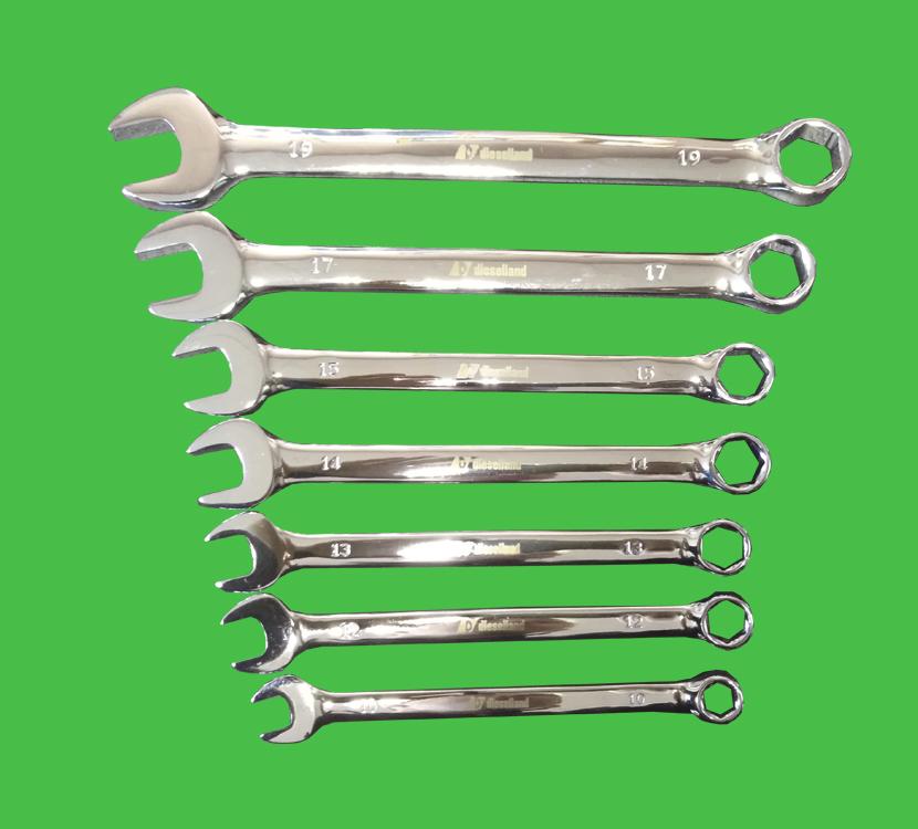 Комплект рожково-накидных ключей