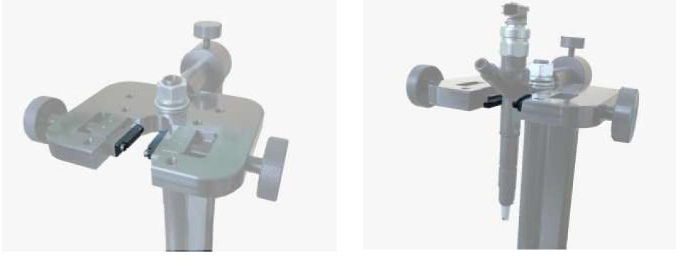Пример использования зажимных губок