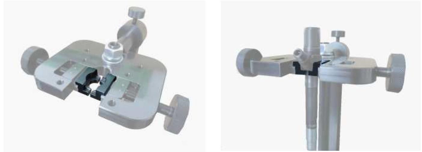 Пример использования зажимных губок для форсунок Denso